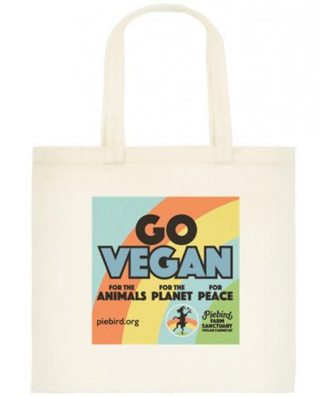 Tote bag - Go Vegan