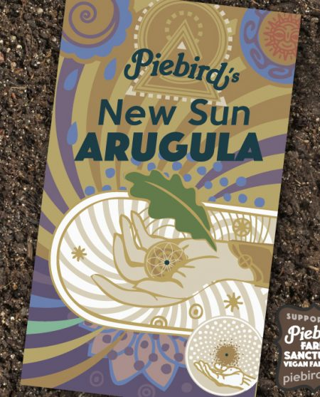 New Sun Arugula - heirloom seeds