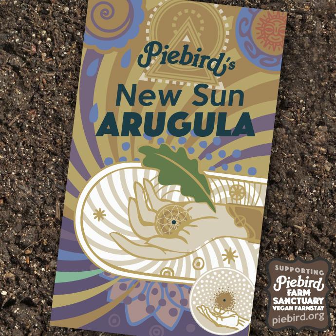 New Sun Arugula - heirloom seeds