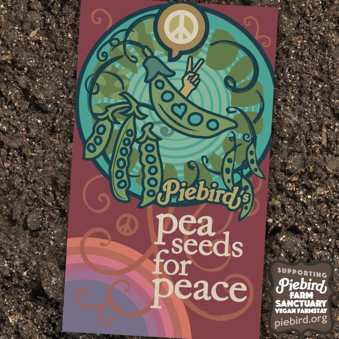 Pea Seeds for Peace - heirloom seeds
