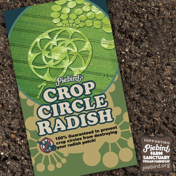 Crop Circle Radish - Heirloom Seeds