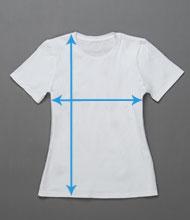 Women's t-shirt size