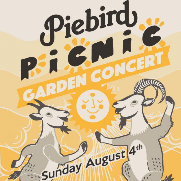Piebird Picnic Garden Concert